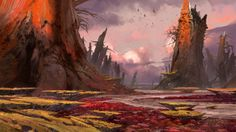 Landscapes birds concept art artwork Bungie Destiny (video game) wallpaper | 2560x1440 | 214227 | WallpaperUP