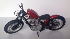 Yamaha sr400 1/12