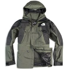 The North Face Men's XCR Gore Tex Black/Grey Jacket