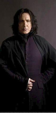 Hogwarts Professors:  Alan Rickman as Severus Snape -- Costume Designer: Judianna Makovsky