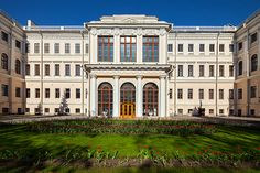 Anichkov Palace - one of the oldest buildings in St Petersburg, Russia