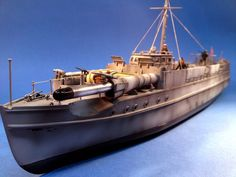 """E-boat (German: Schnellboot, or S-Boot, meaning """"fast boat"""") was the Western Allies designation for fast attack craft of the Kriegsmarine during World War II. It is commonly held that the British used the term E for Enemy.  The E-boat was a very fast vessel, able to cruise at 40 or 50 knots (46-58 mph), and its wooden hull meant it could cross magnetic minefields unharmed. It was better suited to the open sea and had substantially longer range (approximately 700 nautical miles)..."""