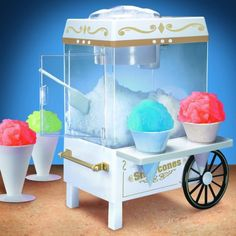Hobby would love this ~ Snow Cone Maker by Nostalgia Electrics - $29