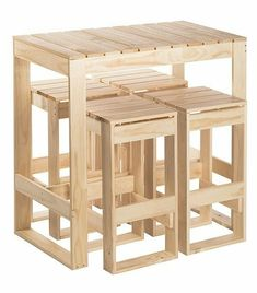 DIY Recycled Wood Pallet Ideas for Projects And Carfting Ideas - Diy Möbel Wooden Pallet Projects, Wooden Pallet Furniture, Diy Pallet Furniture, Diy Furniture Projects, Woodworking Projects Diy, Wooden Pallets, Wooden Diy, Pallet Ideas, Woodworking Plans