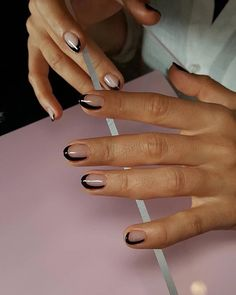 Best Minimalist Nail Art Designs Ideas Youll Love 10 Nail Designs Once you've decided to create your own nail art, and you've got all the tools you need to … Love Nails, How To Do Nails, Pretty Nails, Fun Nails, Minimalist Nails, Nail Art Halloween, Space Nails, Instagram Nails, Nagel Gel