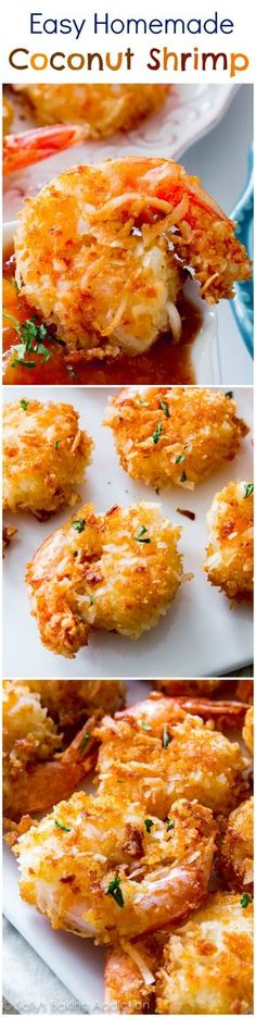 30 Minute Easy Coconut Shrimp. This is the best coconut shrimp recipe I've tried and you won't believe how easy it is!