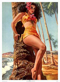 Girls of hawaii calendar topless consider