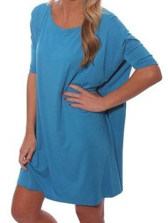 PIKO 1988 Tunic in Caribbean Blue. $30 & FREE shipping  www.rmboutique.com