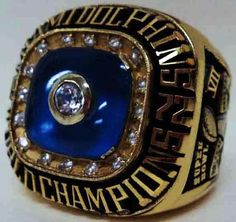 1972 Miami Dolphins Ring