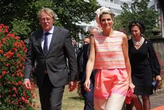 Queen Maxima of The Netherlands attend the 3e edition of the Family Business Award 2015, awarded by the foundation Familie Onderneming, at the Nieuwe Kerk in The Hague on June 24, 2015. The award emphasize the importance of family businesses fot the Dutch economy.