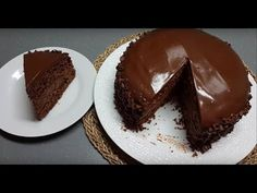 Gâteau Tout Chocolat Très Simplifiée - YouTube French Deserts, Gateaux Vegan, Candles In Fireplace, Creme Fraiche, Party Cakes, Macarons, Banana Bread, Biscuits, Food And Drink