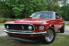 Ford : Mustang Coupe 1969 Ford Mustang Coupe - http://www.legendaryfinds.com/ford-mustang-coupe-1969-ford-mustang-coupe/
