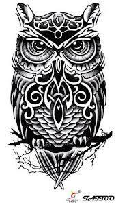 Resultado de imagem para tatoo coruja