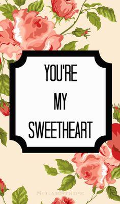 Sugar Stripe: Free V-Day Printable