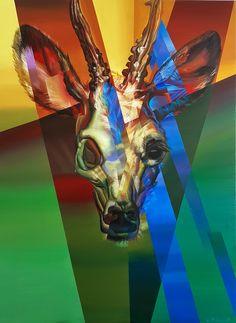 """""""Roe deer""""   by Eugene Melamed"""