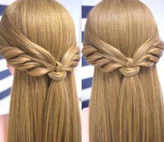 Peinados con media cola fácil y bonito DIY | Cuidar de tu belleza es facilisimo.com