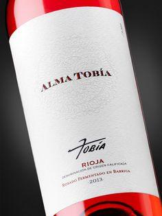 Packaging para Alma Tobía, Bodegas Tobía, D.O.Ca. Rioja