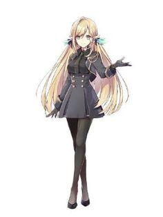 The Ice Dragon (OC x male!various) The Ice Dragon (OC x male! Emo Anime Girl, Anime Girl Dress, Blonde Anime Girl, Pretty Anime Girl, Beautiful Anime Girl, Kawaii Anime Girl, Manga Girl, Anime Chibi, Manga Anime