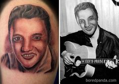 30 Most Hilarious Portrait Tattoo Face Swaps of All Time - bemethis