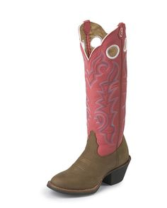 pink cowboy boots