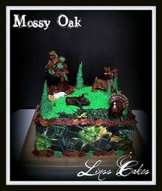 Hunting Grooms Cake By Linss on CakeCentral.com