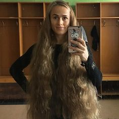 The right kind of _thick_ for a woman Long Hair Ponytail, Long Curly Hair, Big Hair, Thick Hair, Hair 24, Beautiful Long Hair, Gorgeous Hair, Rapunzel, Long Hair Models
