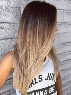 Pretty Blonde Ombre Long Hairstyles for An Ideal Look