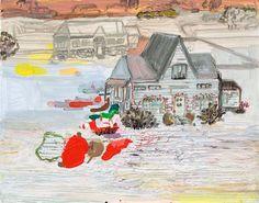 deflated Christmas study - lisa sanditz