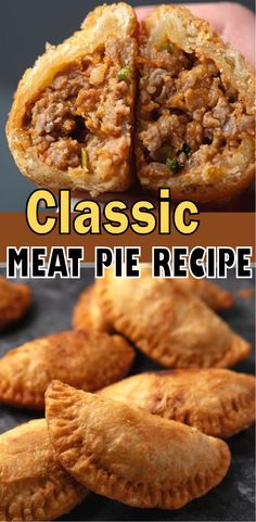 Cajun Meat Pie Recipe, Scottish Meat Pie Recipe, Meat Pie Recipes, Cooking Recipes, Cajun Cooking, Cooking Stuff, Cajun Recipes, Meatloaf Recipes, What's Cooking