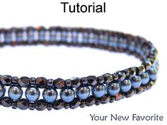 Beaded Bracelet Jewelry Making Tutorials - Beading Patterns - Right Angle Weave - RAW - Simple Bead Patterns - Your New Favorite Bead Crochet Patterns, Beaded Bracelet Patterns, Woven Bracelets, Handmade Bracelets, Beading Patterns, Art Patterns, Mosaic Patterns, Colorful Bracelets, Knitting Patterns