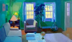 """Contemporary Painting - """"Out There"""" (Original Art from Jennifer O'Connell)"""