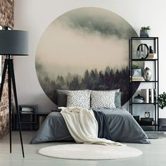 Interior Inspiration, Hygge, Greenery, Room Decor, Tapestry, Wall Art, Bedroom, Architecture, Furniture