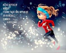 Invincible Summer by Chibi-Joey on DeviantArt Cartoon Quotes, Up Quotes, Mood Quotes, Woman Quotes, Life Quotes, Dance Training, Empowerment Quotes, Sport, Leadership