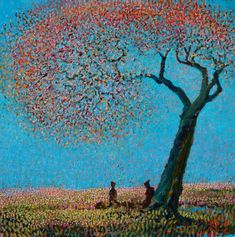 Painting by Ton Dubbeldam