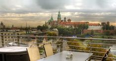 While there are several rooftop cafés in Krakow, this one is certainly in the top 3 (if not the #1). With the Wawel Castle and Vistula in sight, the city view from here is truly marvelous. The terrace is ...