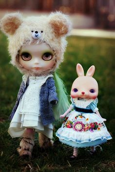 Bunnies and bears by Voodoolady ♎, via Flickr