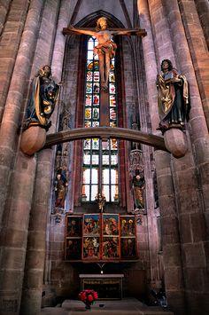 Im St.Sebald Kirche Church - NürnbergNuremberg  Germany Alemania Deutschland