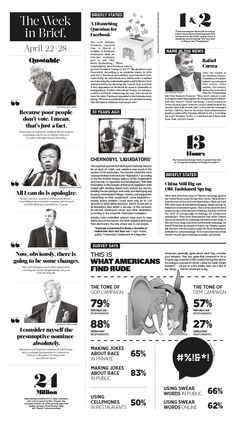 The Week in Brief. 2016 April 22–28 Epoch Times #MitsubishiMotors #NewYorkRangers #TheWeekinBrief. #newspaper #editorialdesign