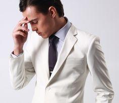 Men's Suit and Tie Idea Suits 5, White Suits, Mens Suits, Suit And Tie, Modern Man, Custom Clothes, Men Dress, Suit Jacket, Knight