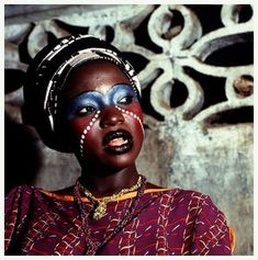 A wife of Fela Kuti...If I could walk around looking like this, I would!