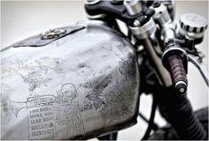 Salander tank detail