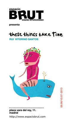 Our next exhibition: THESE THINGS TAKE TIME by Rui Vitorino Santos in espacioBRUT. Don't miss it! Art, Saints, Art Background, Kunst, Performing Arts, Art Education Resources, Artworks