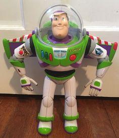 "Disney Pixar Toy Story Talking Light Sound Buzz Lightyear Doll 12"" Works   eBay"