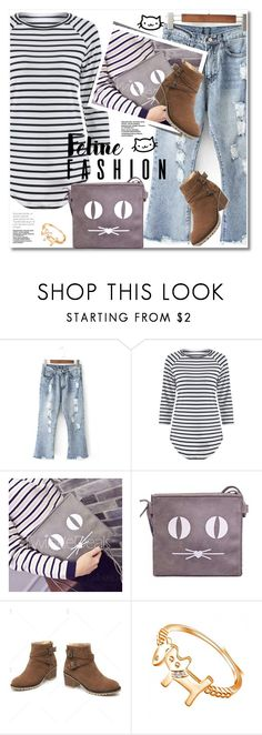 """Feline Fashion"" by svijetlana ❤ liked on Polyvore featuring polyvoreeditorial, catstyle and twinkledeals"