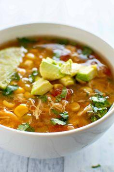 Crockpot Spicy Chicken Soup