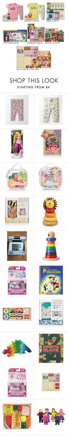 """""""01.06.17 // Gifts from the Three Kings (Reference)"""" by bobbythebunny ❤ liked on Polyvore featuring Disney, Seedling, Elegant Baby, Shopkins, Melissa & Doug, Abrams, Dollhouse, GomezBielFamily and GiftsThisYear2017"""