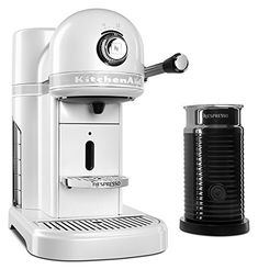 KitchenAid KES0504FP Nespresso Bundle, Frosted Pearl * You can find more details by visiting the image link.