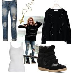 Miley Cyrus LOL, created by jboothyy on Polyvore