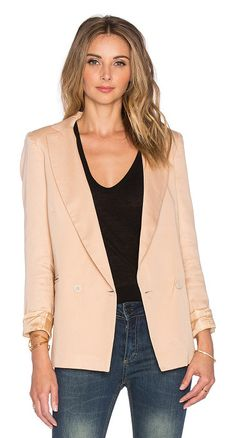 SINCERELY JULES Riley blazer found on Nudevotion