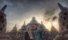Sunrise In Borobudur